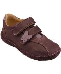 283d96c4da7 Celoroční kožené boty obuv Pegres tm. fialové 3285