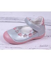 Kožené botičky balerínky sandálky D.D.step 015-141 BARE FOOT 7ae8b1e3b5
