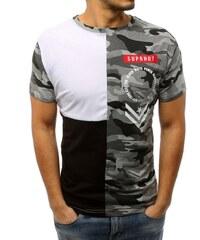 Brand Pánske tričko (rx2979) - bielo-čierne rx2979 c16fc3c3d32