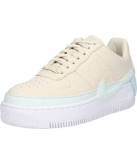 Nike Sportswear Tenisky  Air Force 1 Jester XX  krémová   aqua modrá   bílá 81ac6bf093c