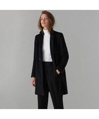 Mohito - Kabát ze směsi vlny - Černý 7fd615a1b3
