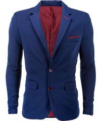 8743073fcc Ombre Clothing Pánske sako Filippo světle modré