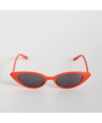Sinsay - Retro slnečné okuliare - Červená f1e9739607d