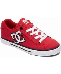 2e15108734b Dámské boty DC CHELSEA TX RED WHITE 36