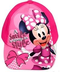 daca79529c7 Setino Dívčí kšiltovka Minnie Mouse (Disney) - růžová