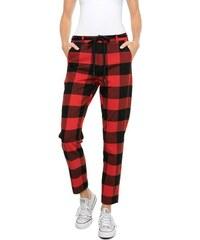 46c29d825bf Scotch   Soda červené kalhoty v kostkovaném stylu - XS