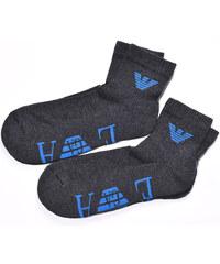 95193627ca2 2 Pack Ponožky krátké EMPORIO ARMANI EA74657