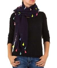 EU Dámský šátek s barevnými třásněmi b21586aff6