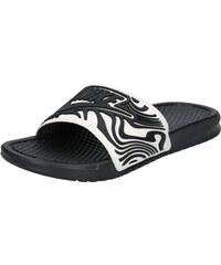 b1c375d8f910 Nike Sportswear Plážová koupací obuv  BENASSI JDI SE  černá   bílá