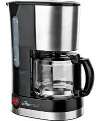 COFFEE MAXX coffeemaxx Single Kaffeemaschine, 600 Watt, für 0,7 Liter, schwarz-edelstahl