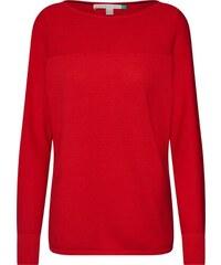 Červené dámské svetry  6209e611ed
