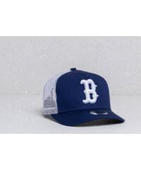 4da01b5990bea New Era Kids 9Forty A Frame MLB League Boston Red Sox Trucker Cap Navy   White