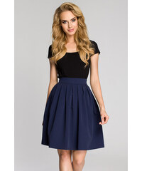 e6d9d4a0a2b Tmavě modrá sukně MOE 237