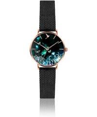 Dámské hodinky s páskem z nerezové oceli v černé barvě Emily Westwood Dream 748300f7d0