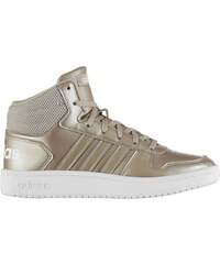 1f8a5f6179c boty adidas Hoops 2 Mid Top dámské Champagne White
