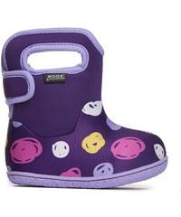 f8cd6975da7 BOGSFOOTWEAR Dětské boty Baby Bogs Classic Sketched Dots - Purple Multi