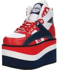 Buffalo London Tenisky námořnická modř   červená   bílá 4129ca3278