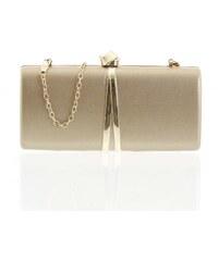 c41eebe07b93 Exkluzívna malá dámska listová kabelka zlatá - Delami ZL2097 zlatá