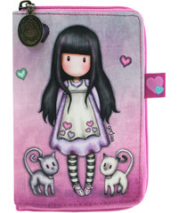 52b0ea974a63 Santoro London - Összecsukható bevásárló táska - Gorjuss - Tall Tails  Rózsaszín, lila, türkiz