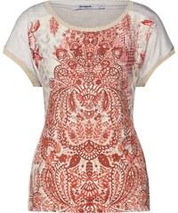 Dámské moderní tričko First Look - růžové - Glami.cz 0d496eca24