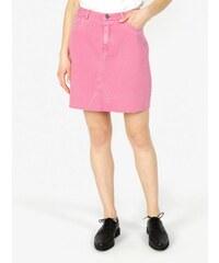 3eeb68463ef Vero Moda růžová džínová sukně s kapsami Carolyn M