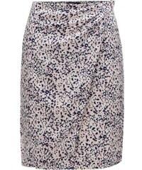 d800ec7fc61 Gant růžovo-krémová vzorovaná zavinovací sukně S
