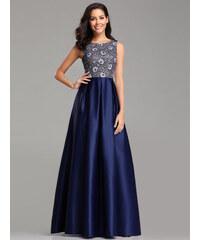 Ever Pretty luxusní modré šaty 7758 a103c42598