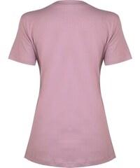 1101304cf251 Dámské tričko Nike PURE SS TOP FUCHSIA GLOW MATTE SILVER - Glami.sk