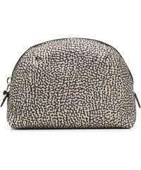 Borbonese small zipped make-up bag - Neutrals 0976f7e746