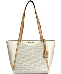 f7f60492d4 Michael Kors kožená kabelka Whitney small tote pale butternut natural