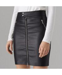 Mohito - Pouzdrová sukně z ekokůže - Černý 65bd587e42