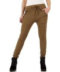 fa1b3239400 Hnědé dámské džíny