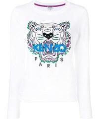 Kenzo tiger logo sweatshirt - 01 White 441d6e8df0