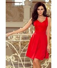 8056329d8fcd Dámske šaty Numoco 208-2 červené