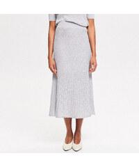 e9dfc1633851 Reserved - Úpletová sukně - Stříbrná