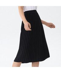 949d458f29a House - Plisovaná sukně - Černý