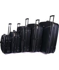 c99f6e436e Sada 5 cestovných kufrov Borderline