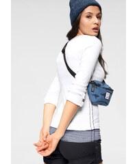 6d25ad850dc KangaROOS Tričko s dlouhým rukávem (také top) bílá+bílá-džínově modř-