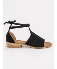 d714134a02d04 Čierne, Zlacnené Dámske sandále z obchodu Amiatex.sk | 20 kúskov na ...