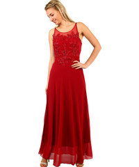 9d952a516001 Glara Dlhé spoločenské šaty na ples