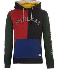 SoulCal Block Colour férfi kapucnis pulóver 51a5f064ee