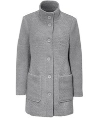 Šedé dámské bundy a kabáty  594f007c7d