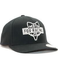Kšiltovka FOX Flathead 110 Black White Snapback 066f249e0c