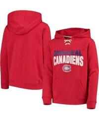 9ea2f34f28 Fanatics Branded Montreal Canadiens gyerek kapucnis pulóver Off The Ice  Lace-Up Pullover Hoodie