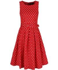 900b01dbef26 Dolly and Dotty Lola Červené Bodkované šaty
