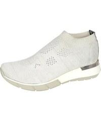f9596af29079 OLIVIA SHOES Biele členkové ponožkové tenisky TITANIO 3045
