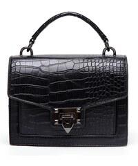Keresztpántos táska krokodilbőr mintával 04218df67e