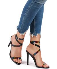 f00d1cd4a4 Sergio Todzi Viacfarebné sandále Vickie
