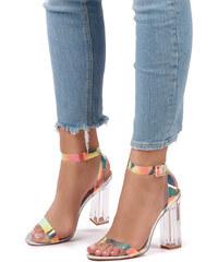 e85a210f1eb1 Sergio Todzi Viacfarebné sandále Yvonne