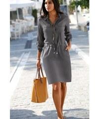 Blancheporte Košeľové šaty bronzová 37c271903e